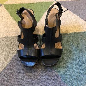 Franco Sarto platform cork sandals